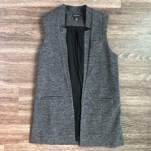 Dark grey vest from Club Monaco